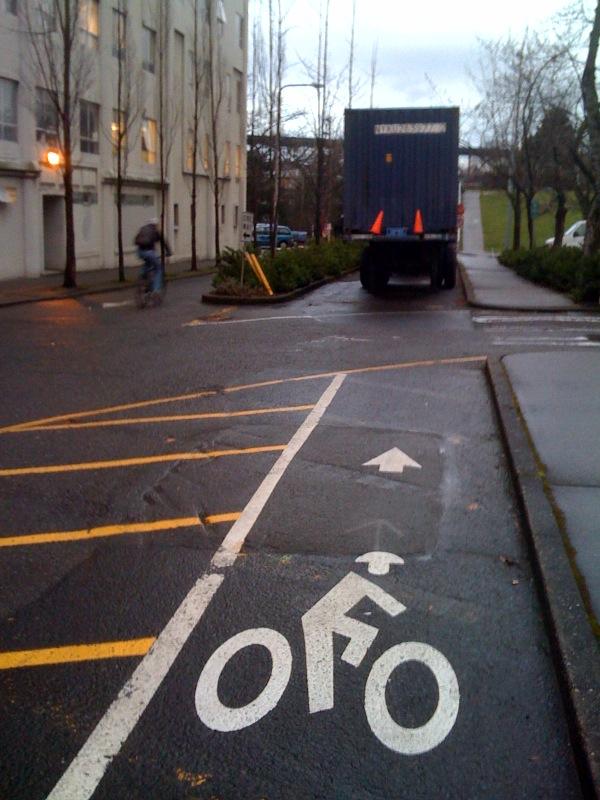 NE 40th Bike Lane