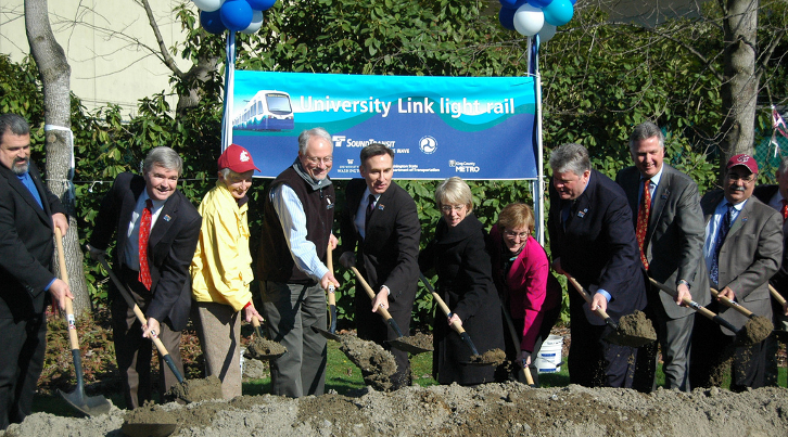 University Link Groundbreaking