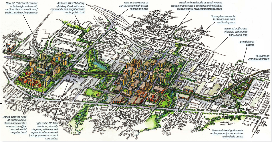 Bellevue's Bel-Red Corridor Vision