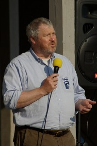 Mayoral candidate Mike McGinn. Photo by flickr user justsmartdesign.