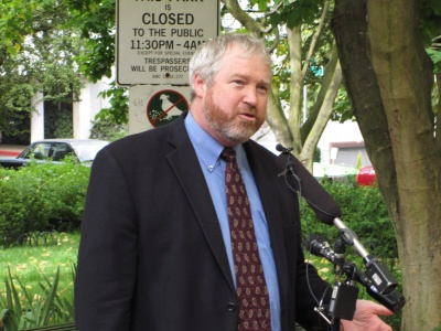 Mayor-elect Mike McGinn (photo by Martin)