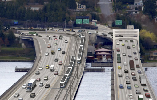 East Link rendering from Sound Transit