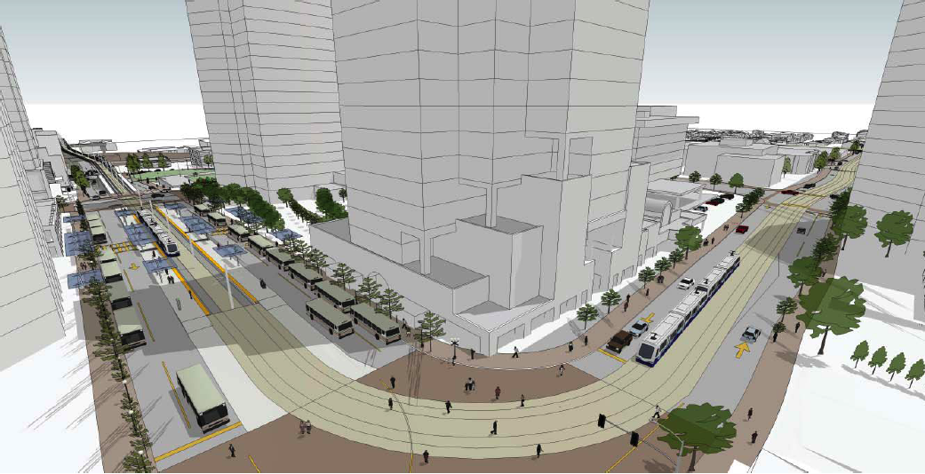 C11A Visualization of the Bellevue Transit Center