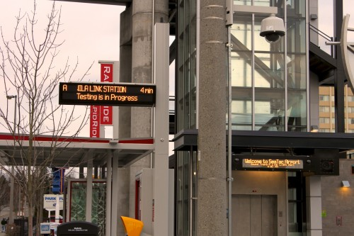 Next bus times a reality for RapidRide but not for Link
