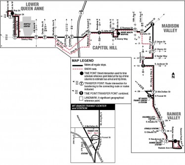 By popular demand -- A map of Route 8