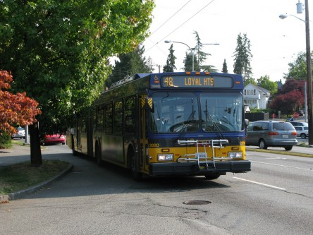 King County Metro 48 in Montlake