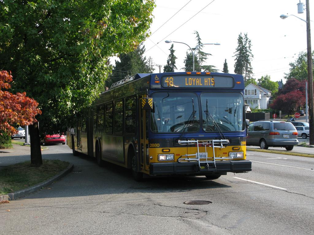 King County Metro 48 In Montlake Seattle Transit Blog