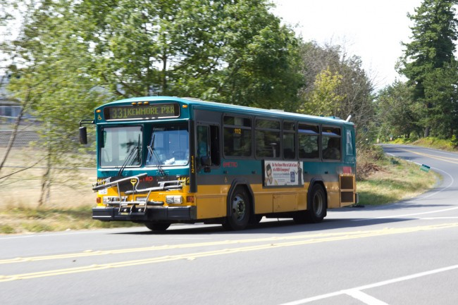 King County Metro 331 near Northwest Hospital