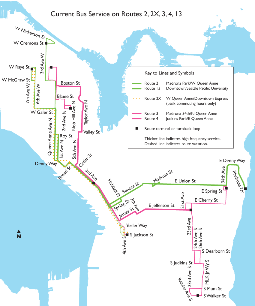 Current Queen Anne-Madrona service