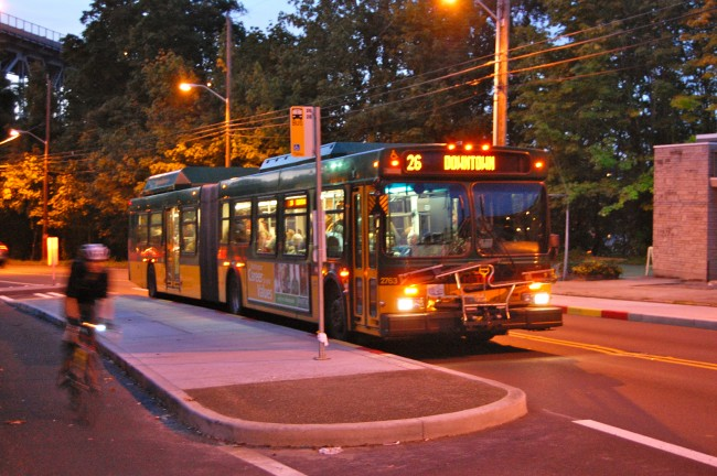 King County Metro 26 on Dexter