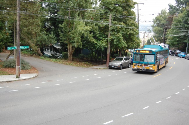 King County Metro 4 in East Queen Anne