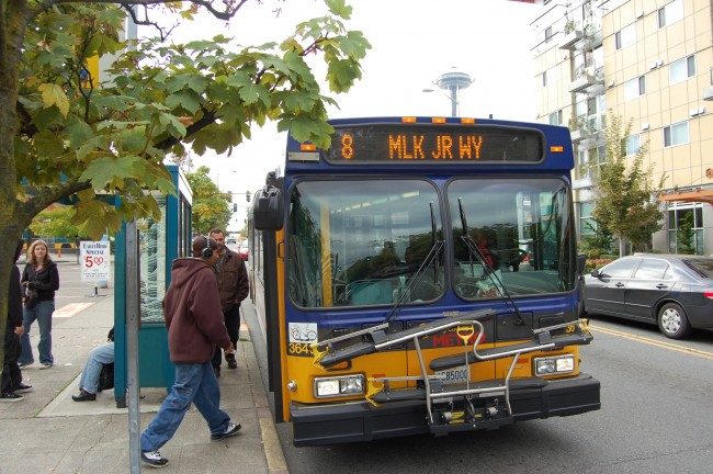 King County Metro 8 on Denny