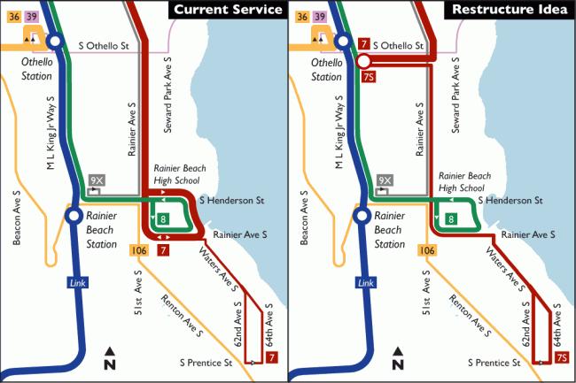 Route 7 Restructure Idea