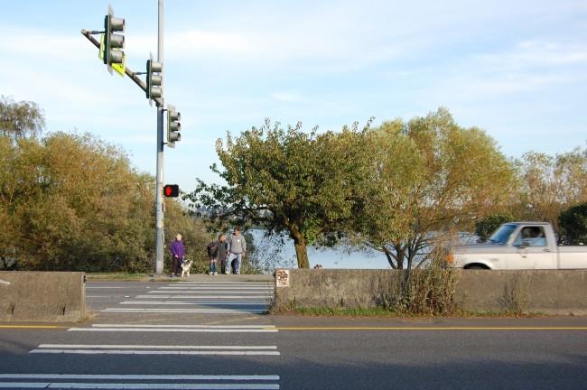 Green Lake Crosswalk