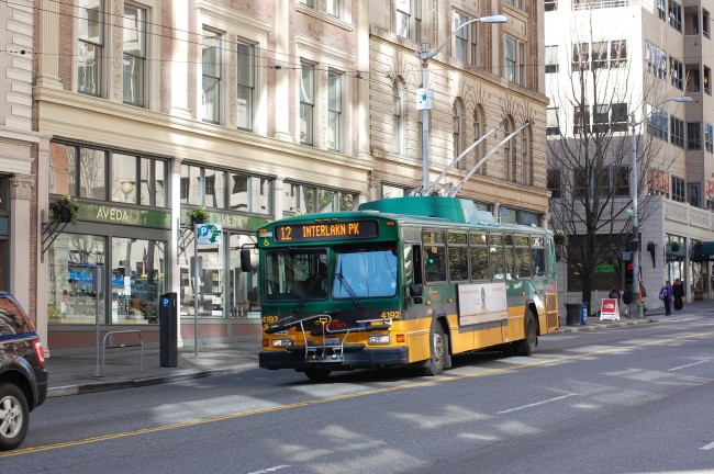 King County Metro 12 on 1st Ave