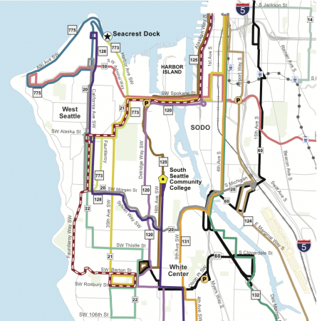 South Seattle Map