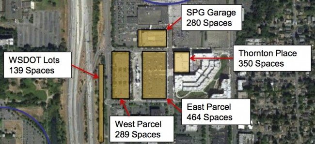 Current Northgate P&R Lots (ST Capital Committee Presentation)