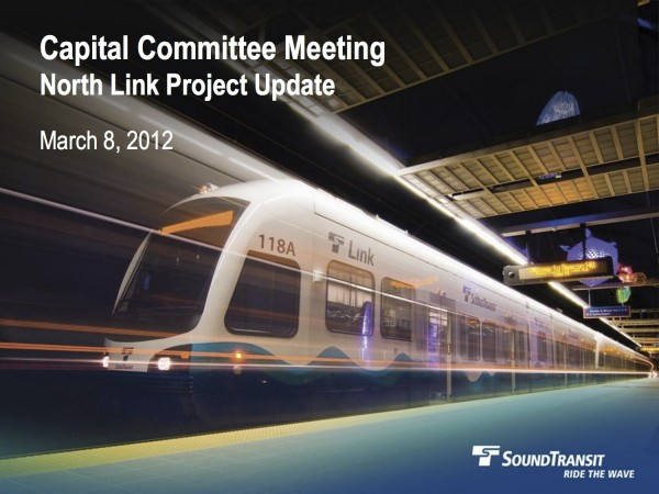 North Link Capital Committee Presentation