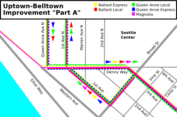 "Uptown-Belltown: SDOT Improvement ""Part A"""