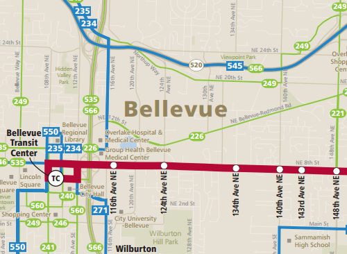 Initiating Bellevue's Transit Master Plan – Seattle Transit Blog
