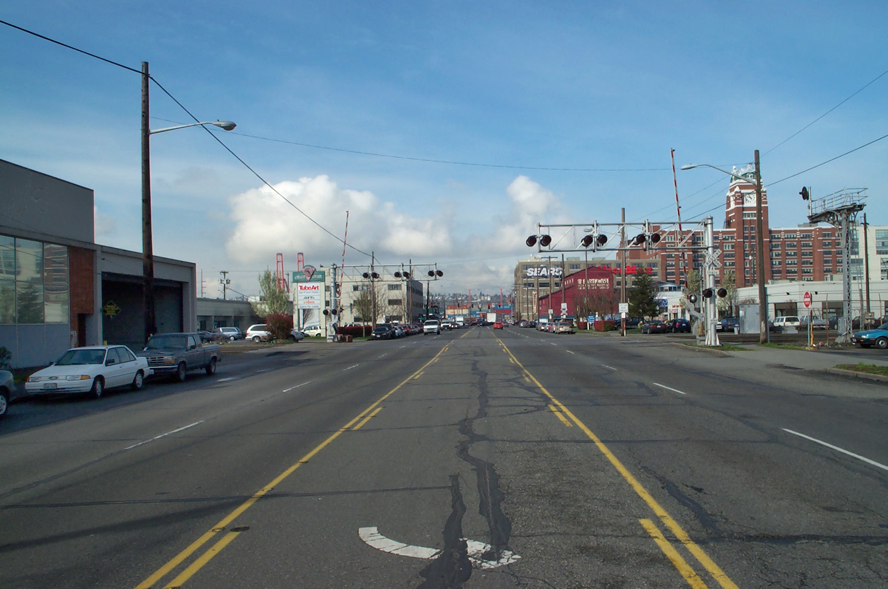 lander street overcrossing and sodo transit