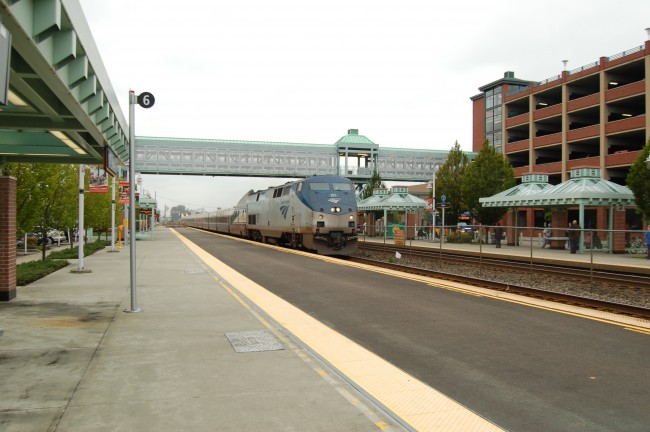 Amtrak Cascades at Auburn Station