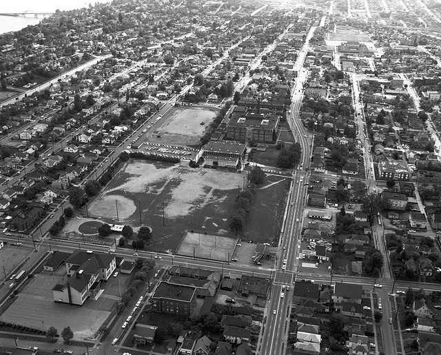 23rd and Cherry, Looking South (1968) - Seattle Municipal Archives on Flickr