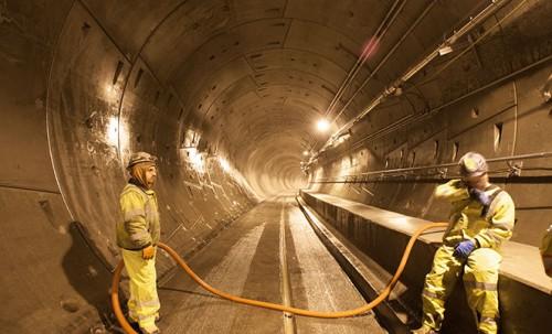 U-Link Tunnel Washdown (Sound Transit)