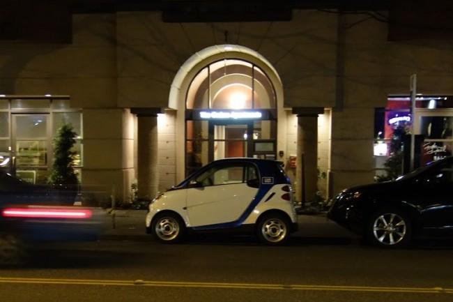 Car2Go on 1st Ave