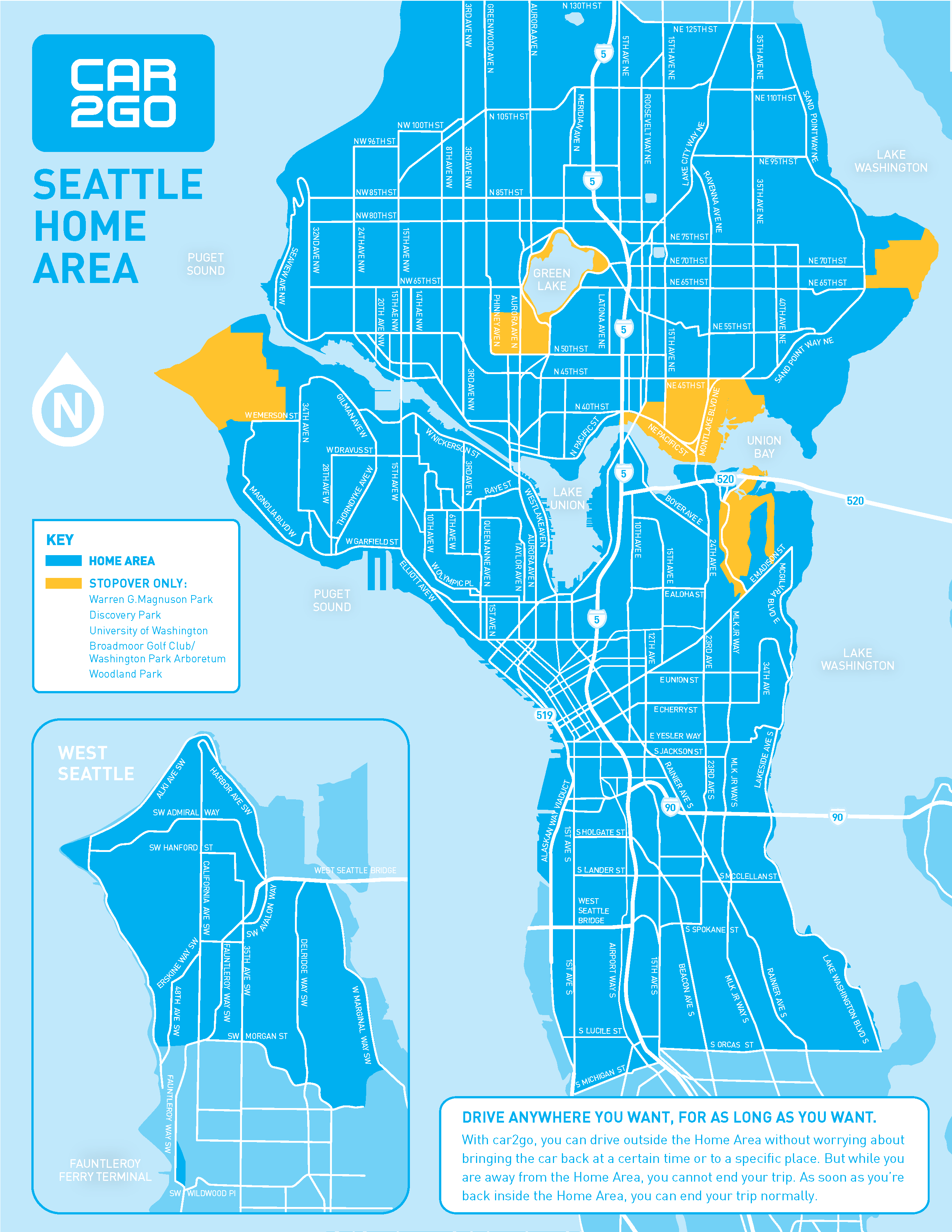 Transportation Committee Approves Car2go Expansion Seattle Transit