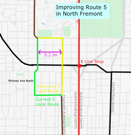 Improving Route 5 in North Fremont