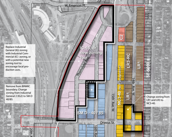 Proposed Interbay Rezone