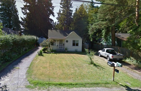 Tiny Home (Google Streetview)