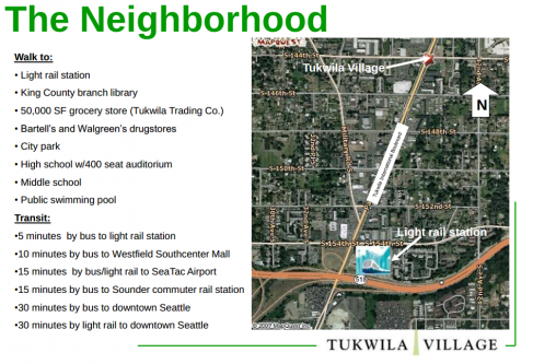 Tukwila Village Location