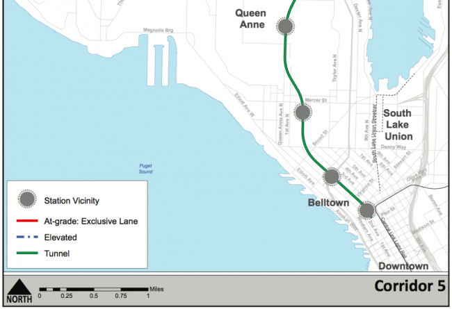 A Subway To Queen Anne?