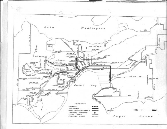1920 Seattle Rapid Transit Proposal