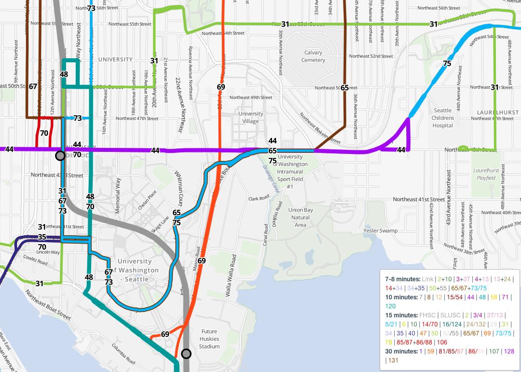 FNP U-District Map