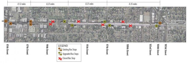 Greenwood improvements diagram