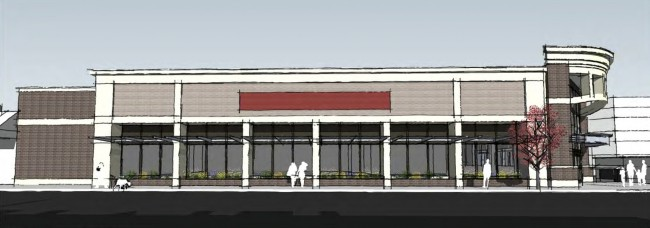 The proposed CVS (1st Ave N side)