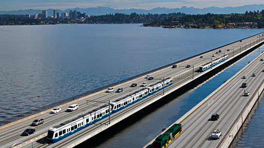 The HOV lanes and East Link (stolen shamelessly from ST)
