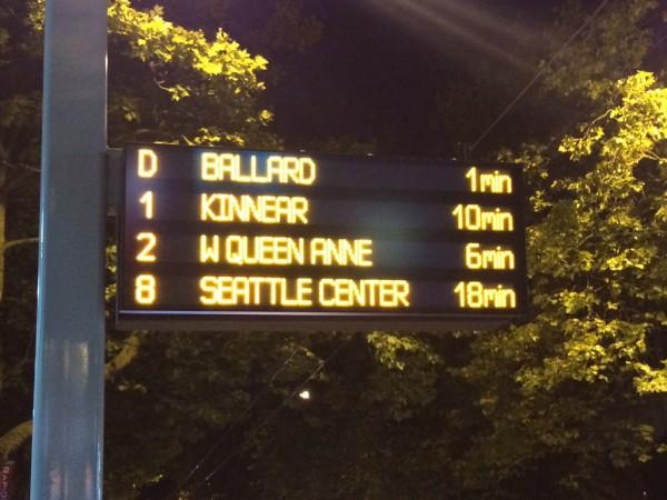 RapidRide 4 Line Sign. Flikr user andrewjn_minn.
