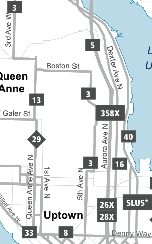 Queen Anne Map