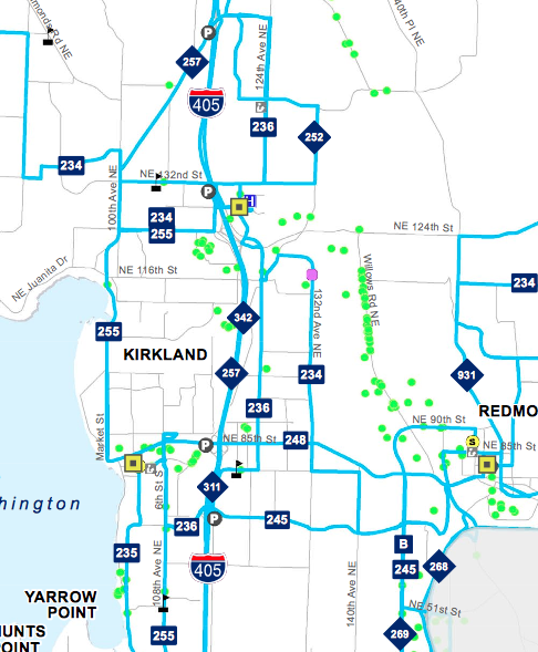 A Closer Look at Metro's Cuts: Eastside – Seattle Transit Blog on pierce county bus map, newark bus map, riverside bus map, phoenix bus map, rockford bus map, dayton bus map, seattle bus map, bothell bus map, bellevue bus map, long beach bus map, juneau bus map, miami bus map, tucson bus map, santa ana bus map, spokane bus map, tempe bus map, kingman bus map, laval bus map, trenton bus map, capitol hill bus map,