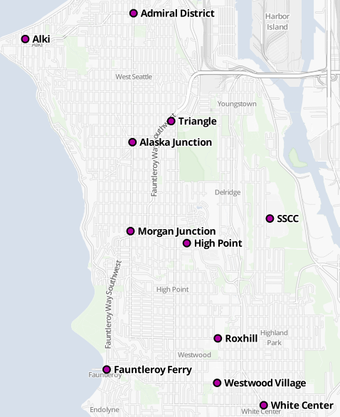 Possible Ridership Centers