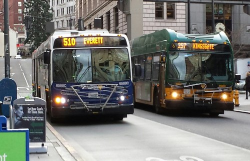Metro and ST Buses