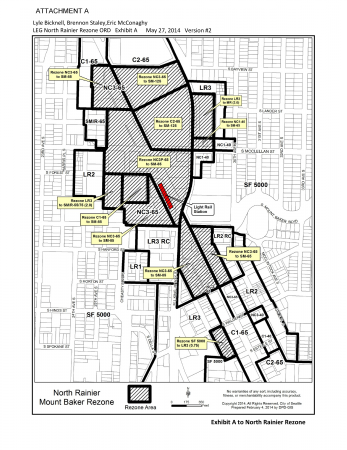 Current Upzone Legislation