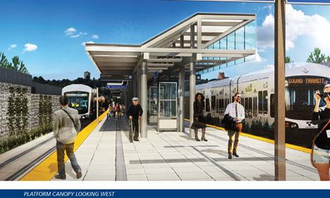 Rainier Station Platform Rendering